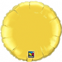 "Gold Round Foil Balloon (36"") 1pc"